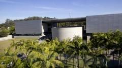 Fachada da Biblioteca Guita e José Mindlin. Foto: Marcos Santos/USP Imagens