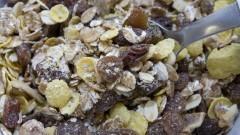 Alimentação saudável. tigela com granola. Foto: Marcos Santos/USP Imagens