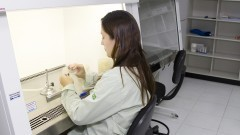 Laboratório de micro-biologia molecular – Fundação Parque Zoológico