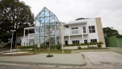 Fachada do Laboratório de micro-biologia molecular da Fundação Parque Zoológico. Foto: Marcos Santos/USP Imagem