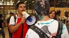 Calouros do ano de 2009. Foto: Marcos Santos/USP Imagens