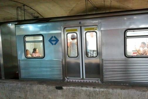 Estação de metrô. Foto:Marcos Santos/USP Imagens