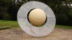 Sistema Solar completo, a Lua, a Terra em três períodos geológicos diferentes, estrutura interior do Sol e da Terra.