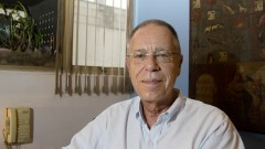 Ex-aluno da Maria Antônia o  Psicólogo de formação junguiana, Roberto Gambini. Foto: Marcos Santos/USP Imagens