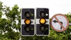 Semáforo de trânsito. Foto: Marcos Santos/USP Imagens