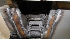 Caixa eletrônico destruído e arrombado - Foto: Pedro Bolle / USP Imagens