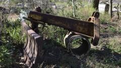 Máquina agrícola antiga - Foto: Pedro Bolle / USP Imagens