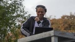 DJ KL Jay durante o evento realizado na Universidade. Coletivo organiza virada cultural pró cotas na USP. 28/06/2016 Foto: Marcos Santos